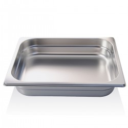 Container stainless steel GN 1/2 32.5x26.5x6.5 cm