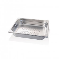 Gastronorm Inox Forata GN 1/2 32,5x26,5x6,5