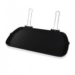 Grill Plate with Handles - Cast Iron 27x50 cm.