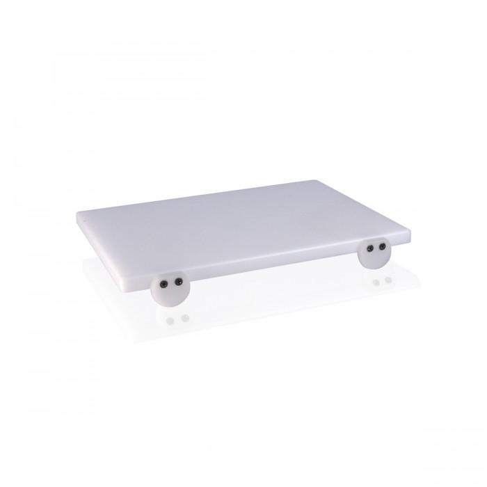 Tagliere Polietilene Bianco 40x30x2 cm