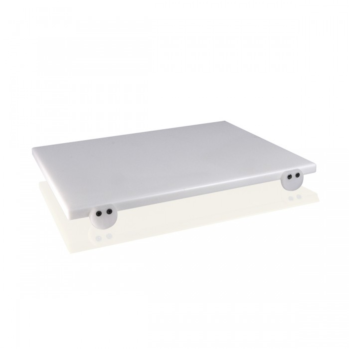 Tagliere Polietilene Bianco 50x40x2 cm