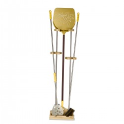 Universal Support 3 Places, h. 150 cm + Stand