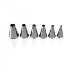 Set 6 Round Decorating Nozzles