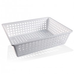 Perforated Storage Basket 40x30x10 cm