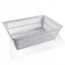 Perforated Storage Basket. 34x24x10 cm