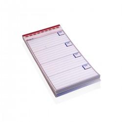 Waiter Order Notepads 9,7 x h 19 cm