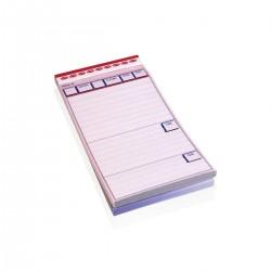 Waiter Order Notepads 9,5 x h 19 cm