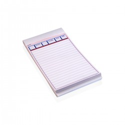Waiter Order Notepads 9,5 x h 17 cm