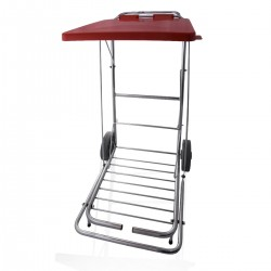 Rubbish Bag Trolley With Pedal