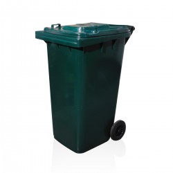 Bin - Green Without Pedal 240 Ltr