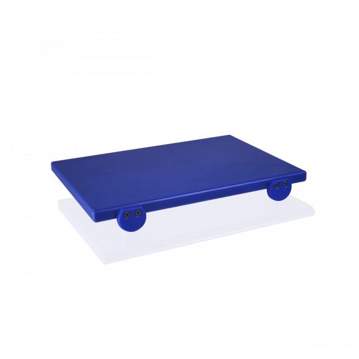 Tagliere Polietilene Blu 40x30x2 cm