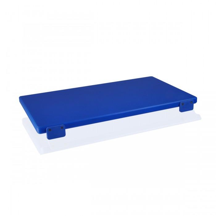 Cutting Board - Polyethylene 50x30x2 cm Blue