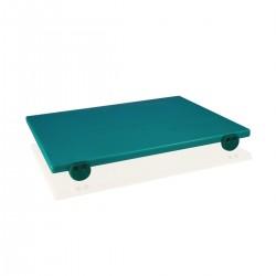 Tagliere Polietilene Verde 50x40x2 cm