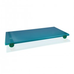 Tagliere Polietilene Verde 60x40x2 cm