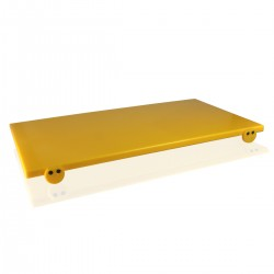 Cutting Board - Polyethylene 70x40x2 cm Yellow