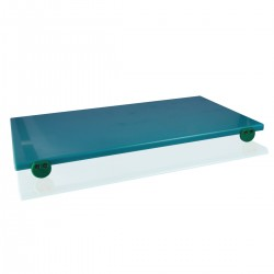 Tagliere Polietilene Verde 70x40x2 cm