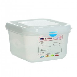 Container GN 1/6 h. 10 cm. 1,7 Ltr