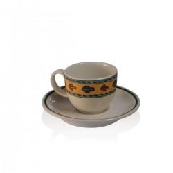 Siena Tazza Caffé con Piatto 12 pezzi