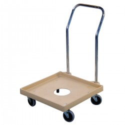 Trolley for Dishwasher Trays with handle
