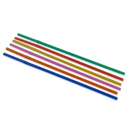 Flexible Straws 24 cm. Mix