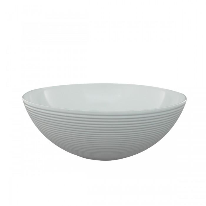 Salad Bowl Melamine White 25x8 cm