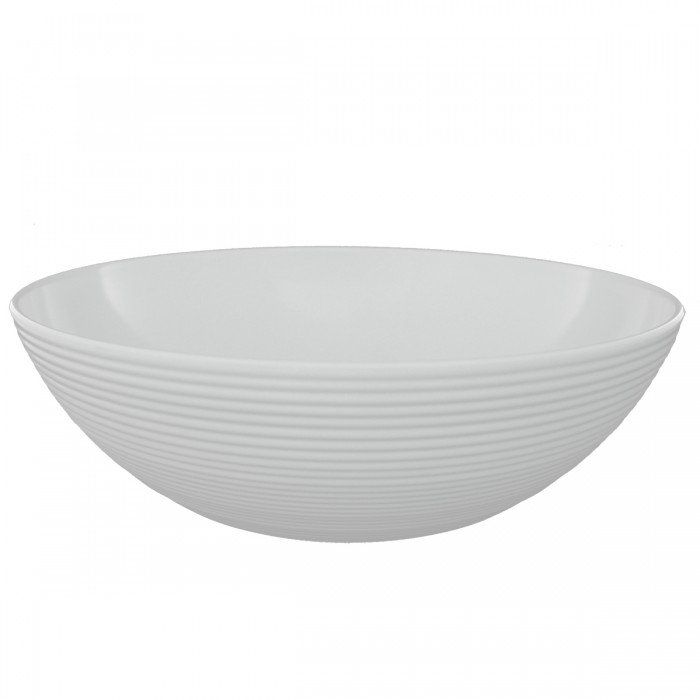 Salad Bowl Melamine White 32x11 cm
