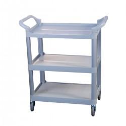 Plastic trolley cm.43x83