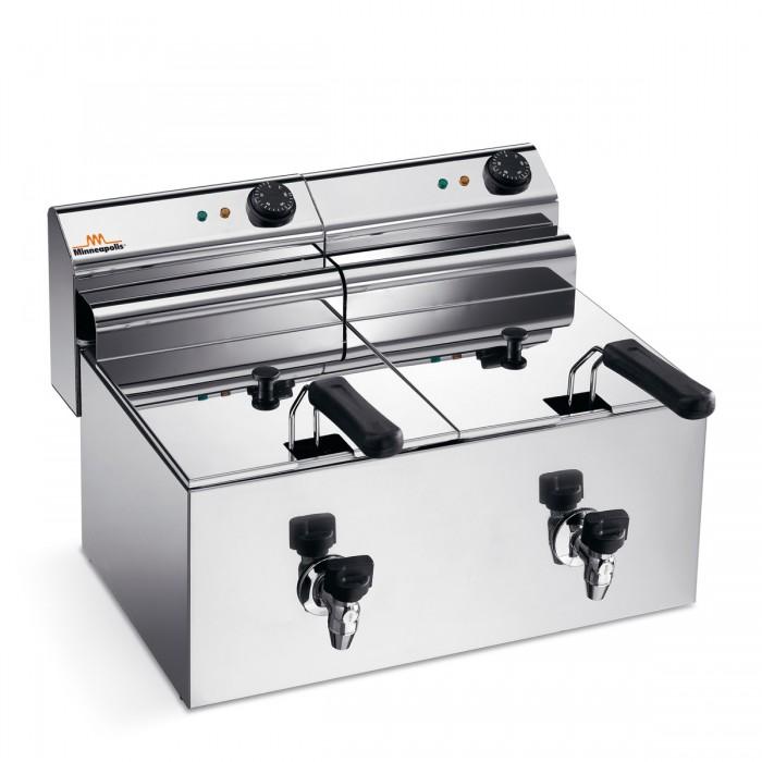 Electric Fryer - Counter top 8+8 Ltr. 220V