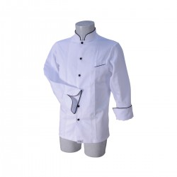 Chef Jacket White Luca Medium Size