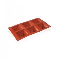 Stampo Silicone Piramide 7,1x7,1x4 cm
