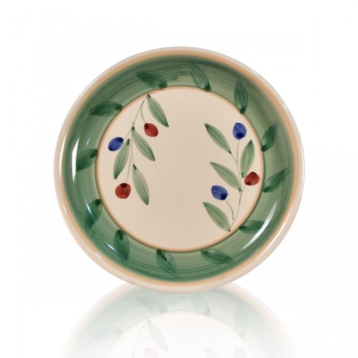 Piatto Olivella Frutta 21cm - 6 pezzi
