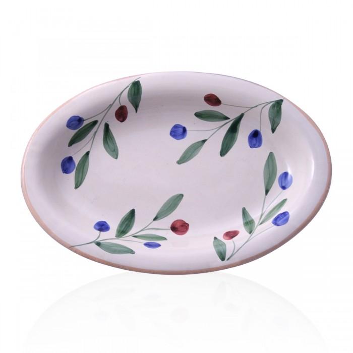 Piatto Olivella Ovale 26x16 cm - 6 pezzi