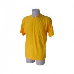 T-Shirt Uomo Gialla Taglia L