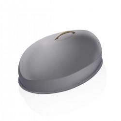 Cloche Ovale Inox 85 cm