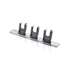 Stainless Steel Wall Support for Utensils - 3 Places
