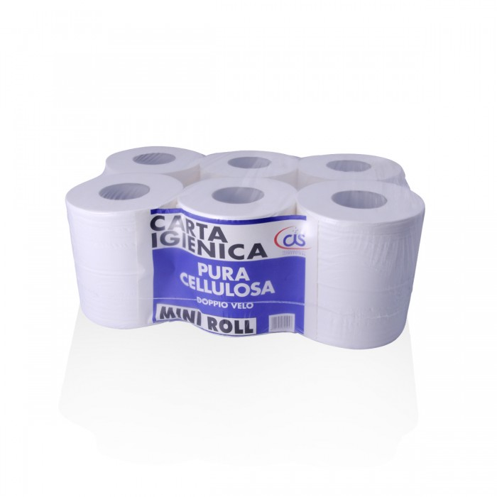 Mini Rolls toilet paper - 12 pcs -