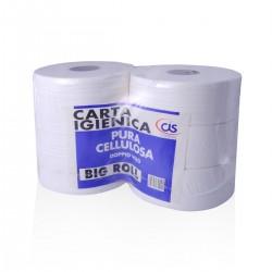 Carta Igienica Big Roll Pura Cellulosa - conf. 6 pz. -