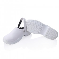 Safety shoe steel toe cap white -40-