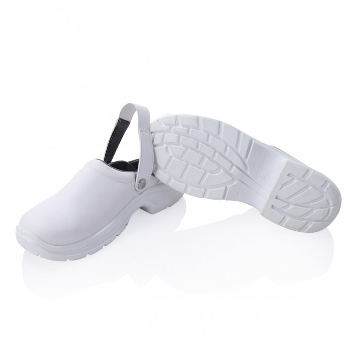 Safety shoe steel toe cap white -40-