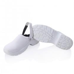 Safety shoe steel toe cap white -41-