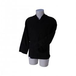 Kimono Chef Jacket Sushi BlackLarge Size