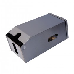 Bulk pack paper Dispenser - Stainless Steel