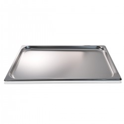 Container stainless steel GN 1/1 53x32x02 cm