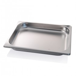Container stainless steel GN 1/2 32.5x26.5x4 cm