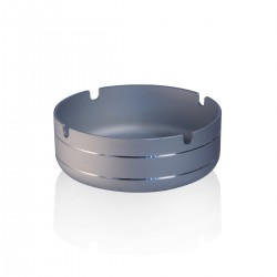 Aluminium ashtray Silver