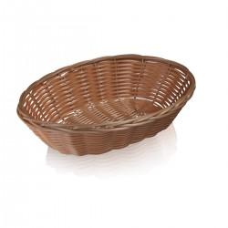 Oval Basket 23 cm polypropylene