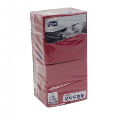 Napkins 25x25 Bordeaux 2 ply - 200 pcs Tork