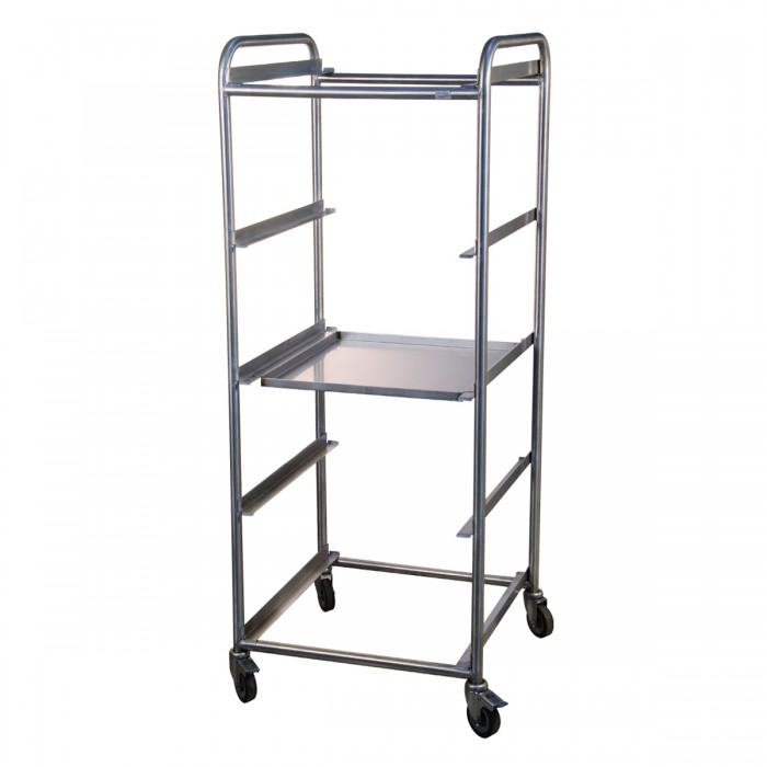 Trolley baskets 50x50 Stainless Steel