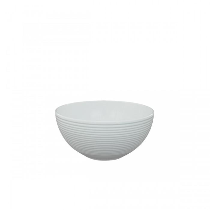Salad Bowl Melamine White 17x5 cm