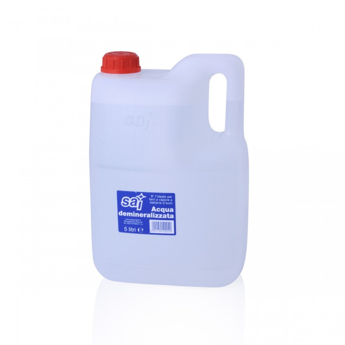 Acqua Distillata 5 lt 4 pezzi